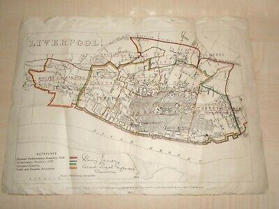 Pre-1900 - Map Of Liverpool - Vatican