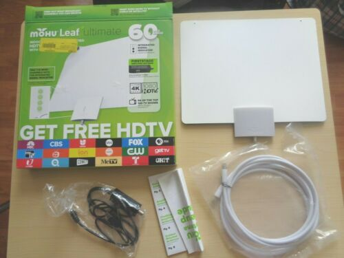 Mohu Leaf MH-110153 Ultimate Indoor Antenna HDTV - Black/White **FREE SHIPPING**