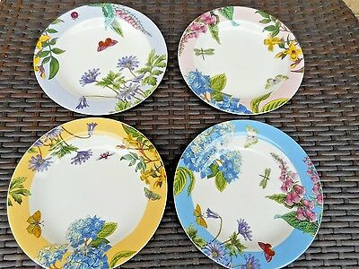 Portmeirion Botanic Garden Terrace  Plate Set Of 4 SET 2