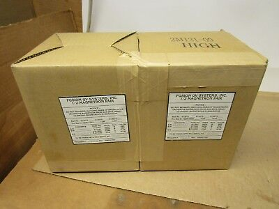 Fusion Uv Systems 2m131-10 2m131-09 12 Magnetron Low High Pair