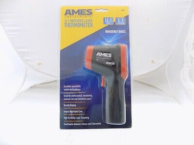 New Ames Instruments Ir12 Non-contact Infrared Thermometer W Laser 63985