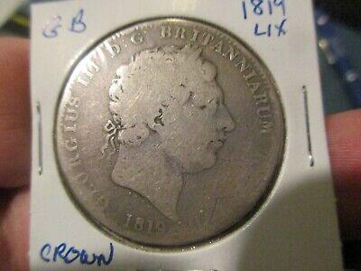 Britain - 1819 Sterling Silver Crown - George III