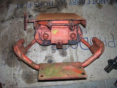 Vintage Ji Case 511 Gas Tractor -rubber Spring Seat Base Frame - 1959