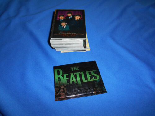 BEATLES Complete Base SET 100 TRADING CARDS & WRAPPER 1996 SPORTS TIME Photos