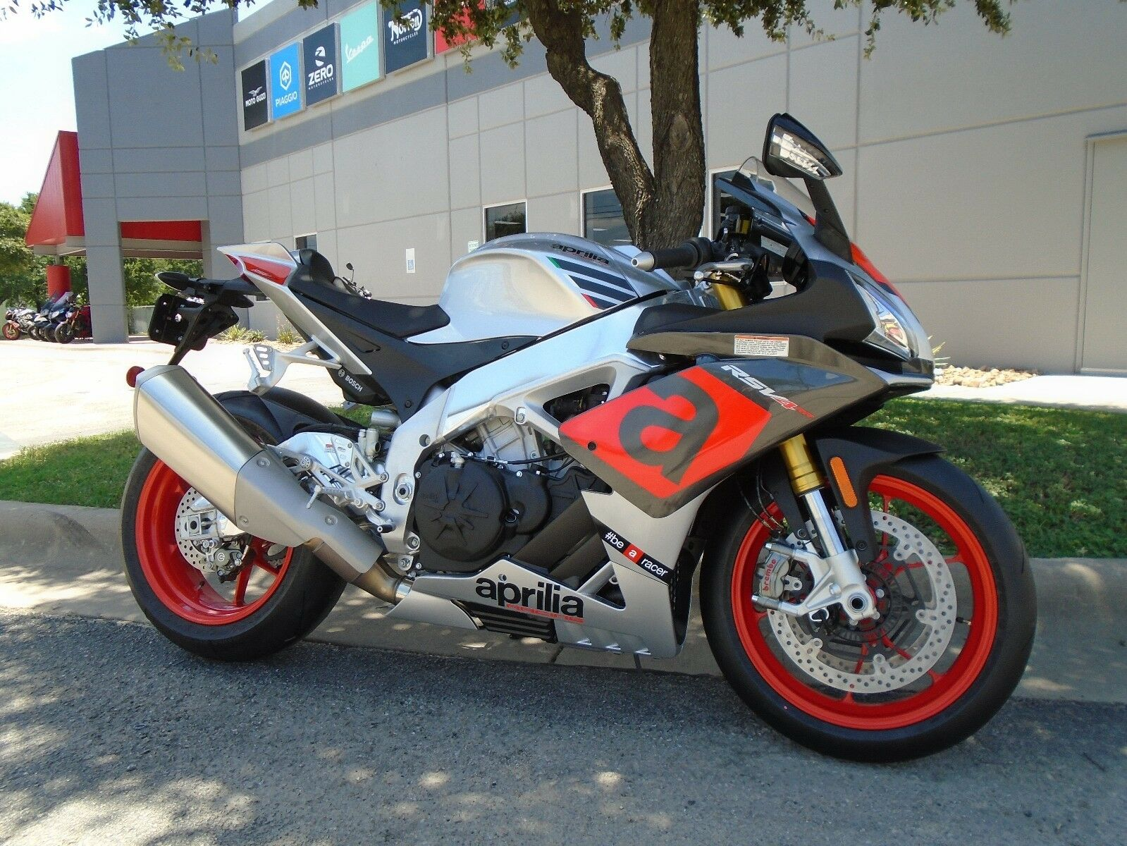 2017 Aprilia RSV4-RR Gray, No Fees, Invoice Pricing!  2017 Aprilia RSV4-RR, Gray, NO FEES - Invoice Pricing!