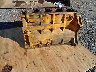 John Deere 1010 Crawler Dozer Tractor. Engine Block Diesel