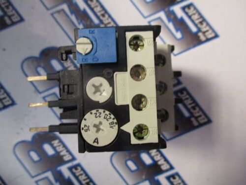 ABB T25DU25, 18 AMP-25 AMP THERMAL OVERLOAD RELAY- NEW