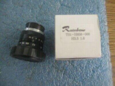 Rainbow Model T01-h858-000 Ccd Camera Lens. H3.5 1.6. New Old Stock