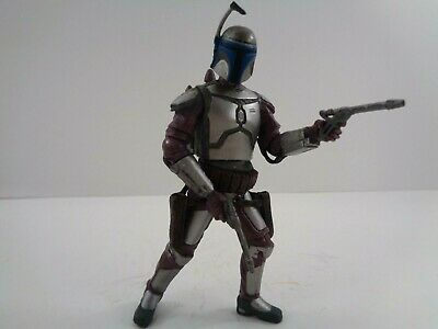 "Star Wars Jango Fett Action Figure Evolutions the Fett Legacy 3.75"" Hasbro 2008"