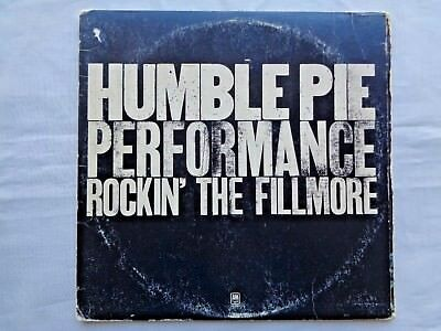 Humble Pie Rockin' The Fillmore 1971 A&M SP-3506 Sterling Ludwig Press 2 LPs VG-