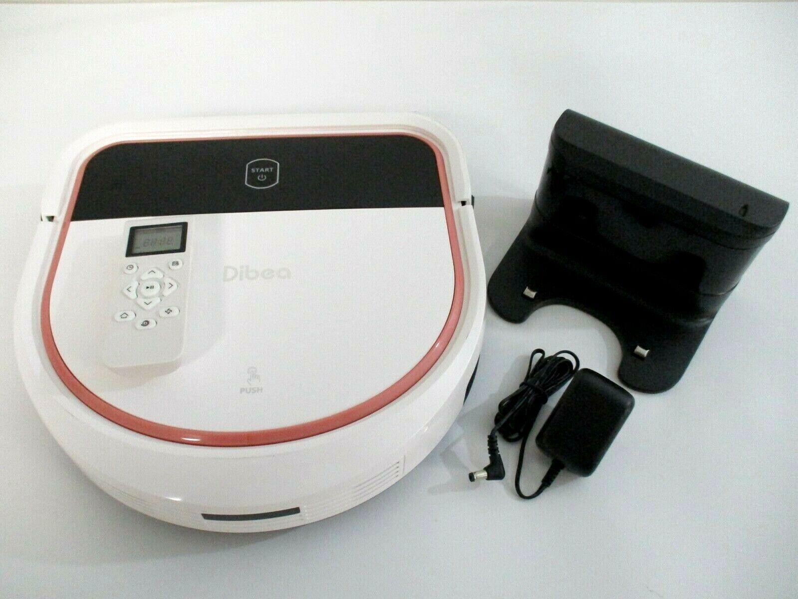 Dibea D-500 Pro D-Shape 2 in 1 Robotic Vacuum Cleaner