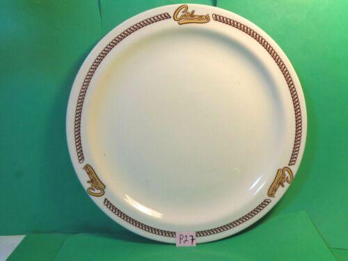 "Cattlemens 10 3/8"" Restaurant Ware Dinner Plate, Buffalo China Co. (Used/EUC)"