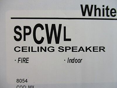 New System Sensor Spcwl - Ceiling Mountable L-series High-fidelity Speaker