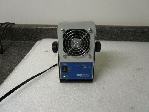 SunjE Hi-Tek SBL-18 Desktop Ion Ionizing Air Blower Fan Anti-Static Ionic Fan