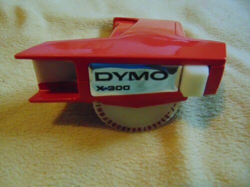 DYMO X-300 RETRO VINTAGE LABEL MAKER