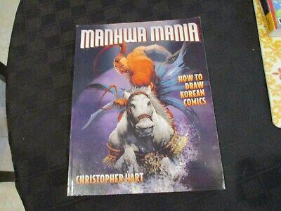 MANHWA MANIA Christopher Hart HOW TO DRAW KOREAN COMICS 2004 12345678 Near New