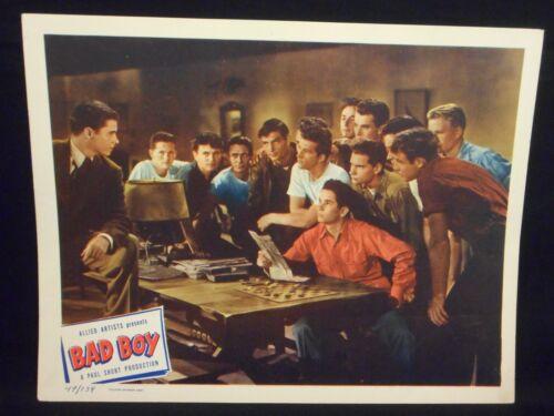 Audie Murphy Bad Boy 1949 Lobby Card #7 VF
