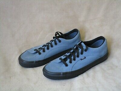 VANS Blue Suede with Black Soles - Unusual Style! Mens 9 - Excellent Condition! - Unusual Vans Shoes