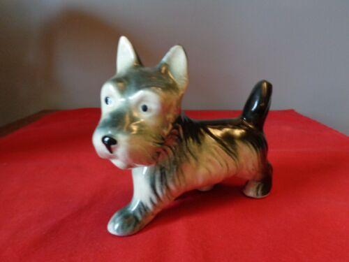 Scottish Terrier Dog Figurine Scottie Rare Royal Copley amazing