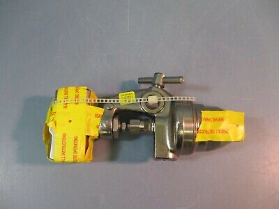 Spraying Systems Co Steam Air Actuated Atomizing Nozzle 10536-12j-ss 125 Psi