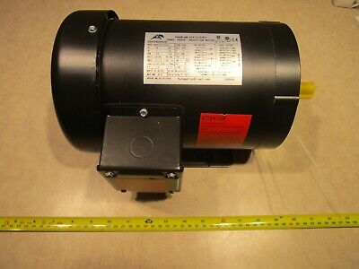 Automation Direct Mtrp-001-3bd18 1hp 3 Phase Induction Motor D0464