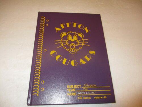 Affton Senior High School yearbook 1981 - St. Louis, Missouri (Afhiscan)