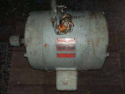 General Electric Ge 25 Hp Electric Motor 3ph 3 Phase 208-220440 Volt