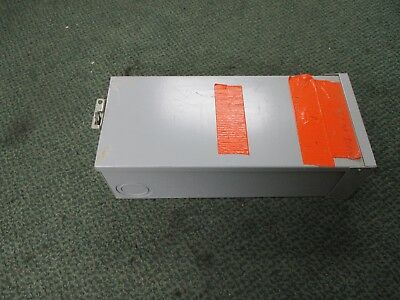 Ge Enclosed Circuit Breaker Ted134040 40a 480v 3p 3r Enclosure Used
