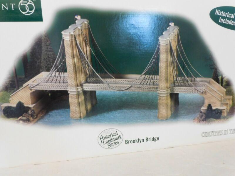 "Brand NEW - Dept 56, ""Brooklyn Bridge"" of Christmas In The City #59247 - RARE!"