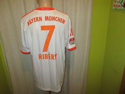 FC Bayern München Adidas Auswärts Triple Trikot 2012/13 + Nr.7 Ribery Gr.XL