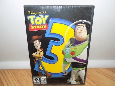 Toy Story 3: The Video Game (PC, 2010) Disney Game Inspired By The Movie NEW!!! - Toy Story Game