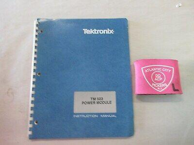 Tektronix Tm503 Power Module Instruction Manual