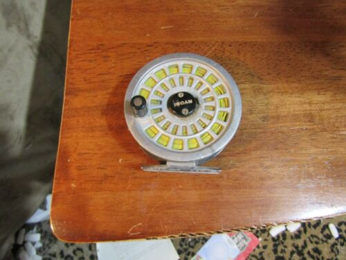 Vintage Ryobi 355 Fly Fishing Reel With Line Made in Japan
