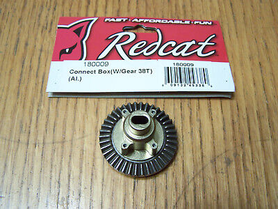(180009 Redcat Racing Everest-10 Gen7 Pro Connect Box w/ 38T Main Ring Gear /Diff)