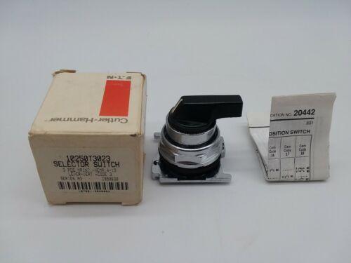 Cutler Hammer 10250T3023 Selector Switch