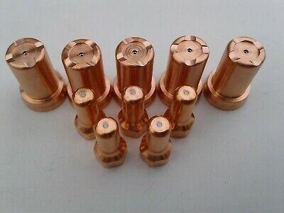 10pc 0.9mm40amp Drag Tip Kit Everlast And Herocut Plasma Cutter Ipt80 Torch