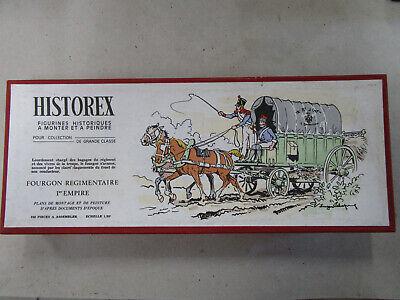 HISTOREX Kit 1/30 Fourgon régimentaire 1er empire état neuf sans plan de montage