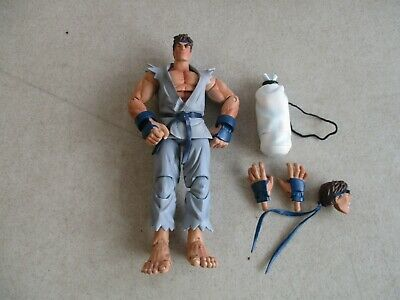 "LOOSE SOTA ROUND 2 STREET FIGHTER RYU 6"" ACTION FIGURE GRAY OUTFIT # 35 for sale  Shipping to India"