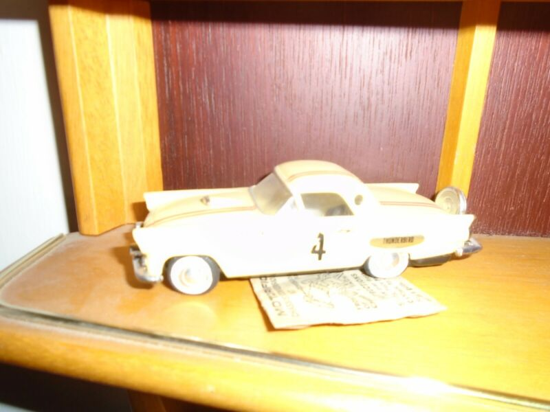 Ideal Motorific Yellow Thunderbird & Chassis + Clip in Packet All Original