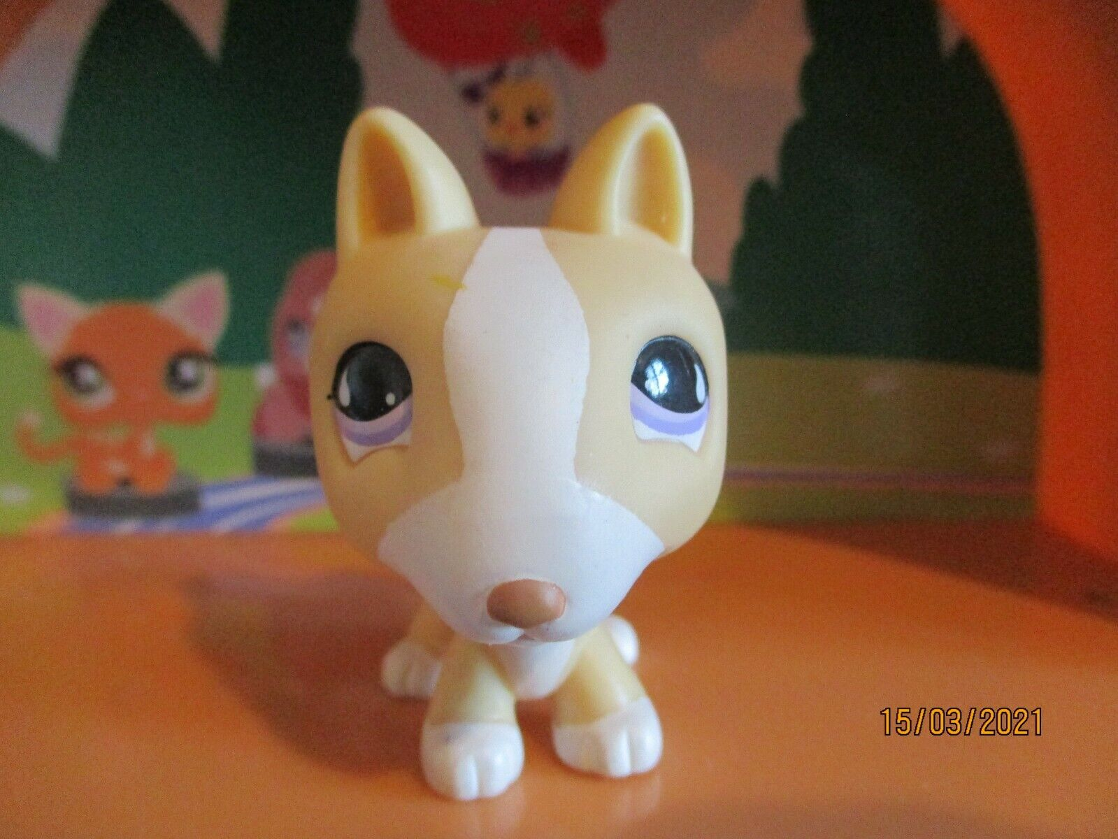 Petshop chien bull-terrier #860