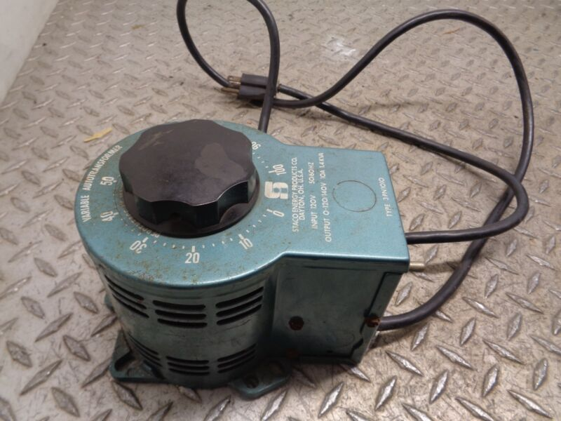 STACO ENERGY PRODUCTS VARIABLE AUTOTRANSFORMER TYPE 3PN1010