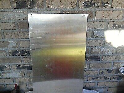 ".018 12/""x16/"" Stainless Steel Sheet Metal Bright 2BA Annealed 26 Gauge"