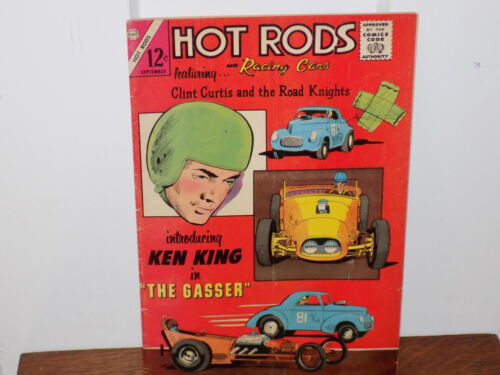 Hot Rods and Racing Cars Comic Book Vol 1 No 70