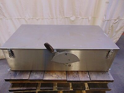 Large Stainless Steel Westinghouse Electrical Disconnect Switch Box Enclosure