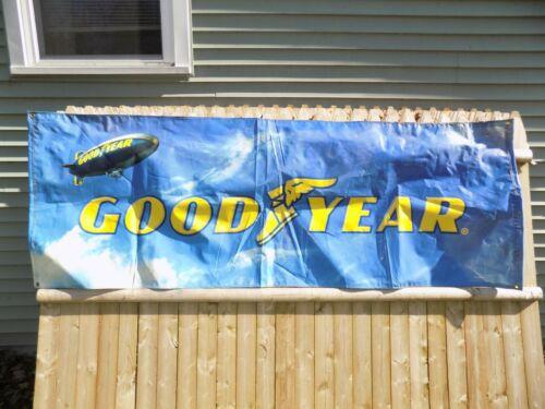 Vintage Good Year Tire Plastic Banner