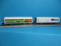 Mabar Tren N SBB 2x 2achs Kühlwagen weiß 86515 NEU OVP