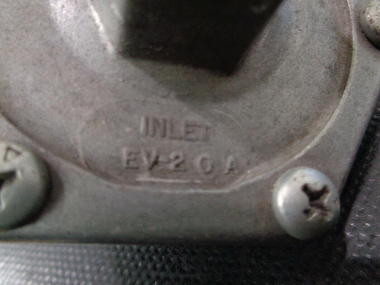 DELTROL EV-2 0 A VALVE