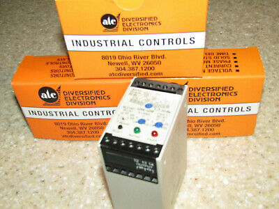 Diversified Electronics Slu-100-asd Relay Phase Voltage Monitor 3 Phase