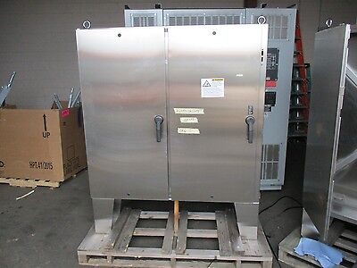 Hoffman Stainless Steel Enclosure Size 60x61x12 Type 3r44x12 New Surplus