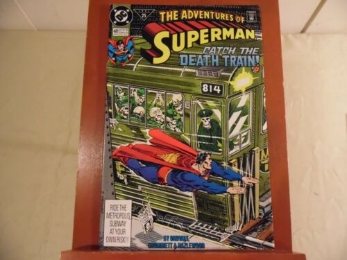 Adventures of Superman #481 (DC 1991) Free Domestic Shipping